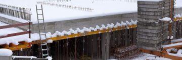 Зимно бетониране